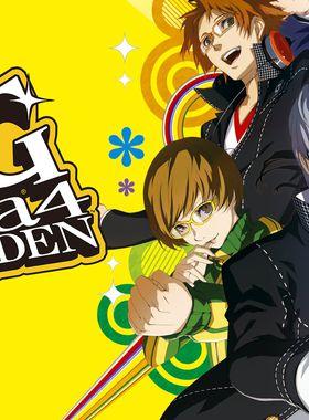 Persona 4 Golden Key Art