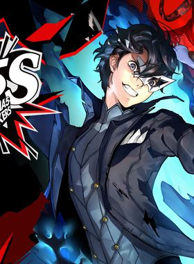 Persona 5 Strikers Key Art