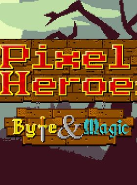 Pixel Heroes: Byte & Magic Key Art
