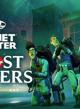 Planet Coaster: Ghostbusters Key Art