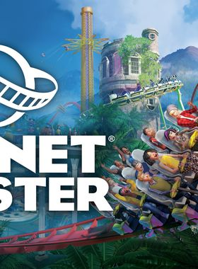 Planet Coaster Key Art