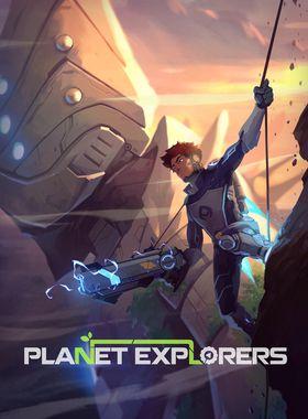 Planet Explorers Key Art