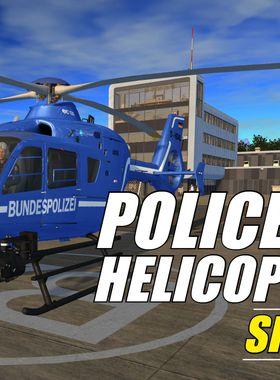 Police Helicopter Simulator Key Art