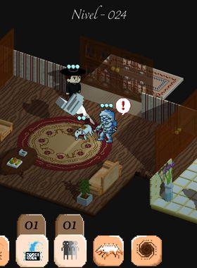 Poltergeist: A Pixelated Horror Key Art