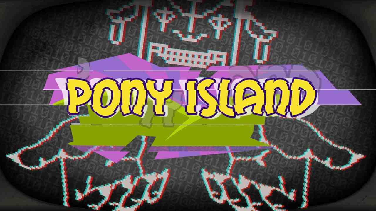 Pony Island Background Image