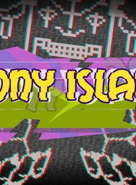 Pony Island Key Art