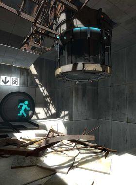 Portal 2 Key Art