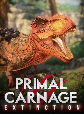 Primal Carnage: Extinction Key Art