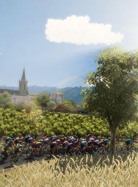 Pro Cycling Manager / Tour de France 2018 Key Art