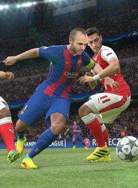 Pro Evolution Soccer 2017 Key Art