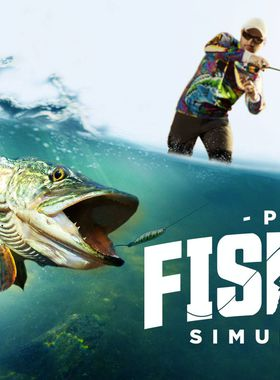 Pro Fishing Simulator Key Art