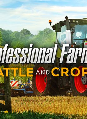 Professional Farmer: Cattle and Crops Key Art