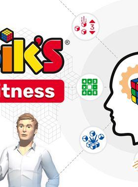 Professor Rubik's Brain Fitness Key Art