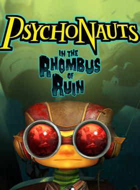 Psychonauts in the Rhombus of Ruin Key Art