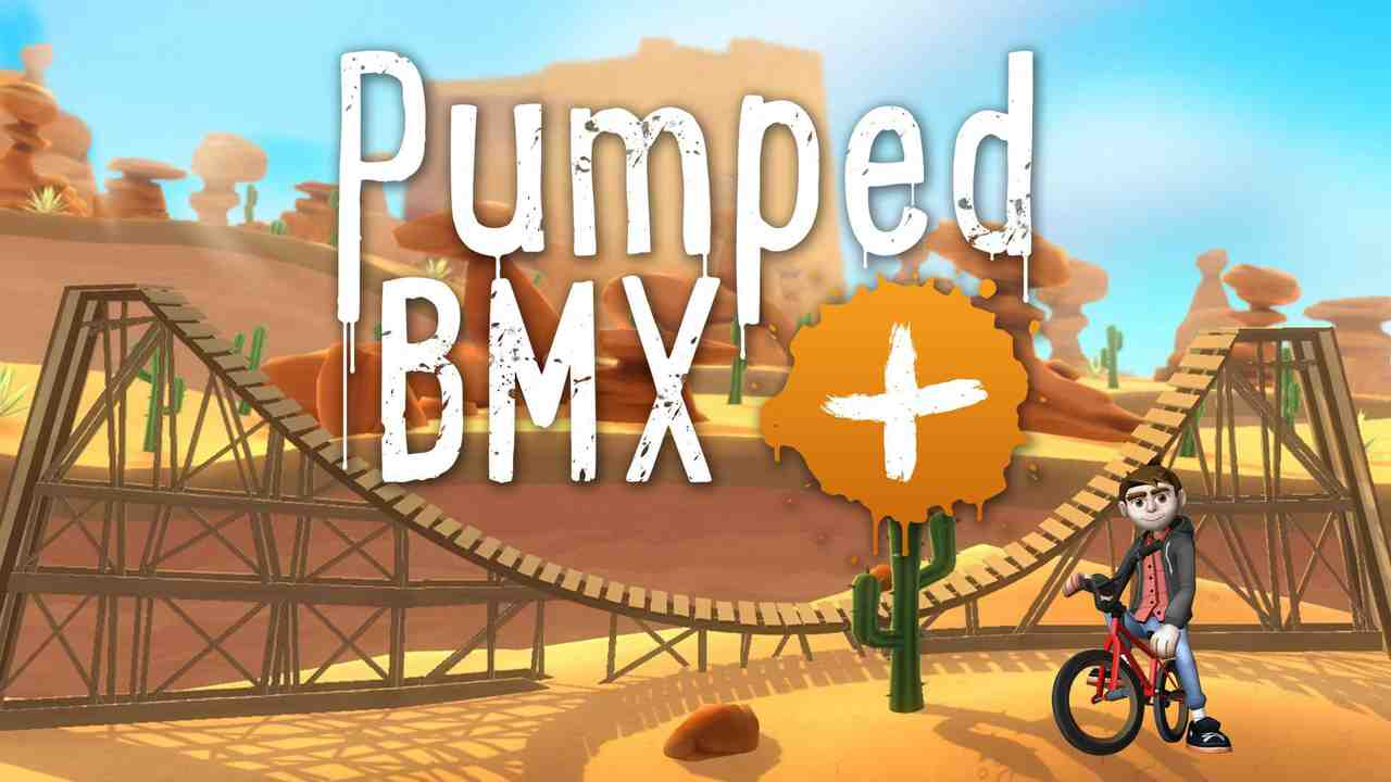 Pumped BMX + Background Image