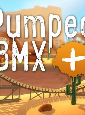 Pumped BMX + Key Art