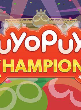 Puyo Puyo Champions Key Art