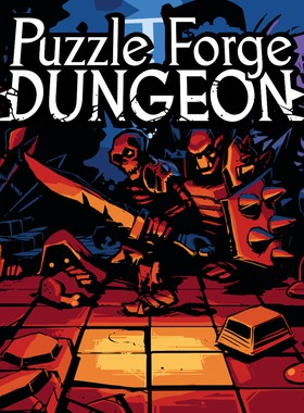 Puzzle Forge Dungeon Key Art