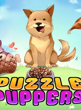 Puzzle Puppers Key Art