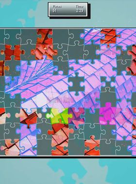 Puzzle Showdown 4K Key Art