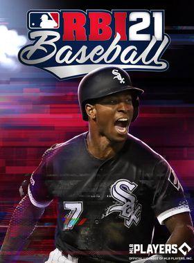 R.B.I. Baseball 21 Key Art