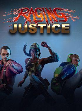 Raging Justice Key Art