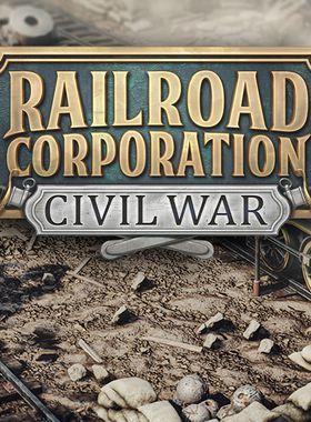 Railroad Corporation - Civil War Key Art