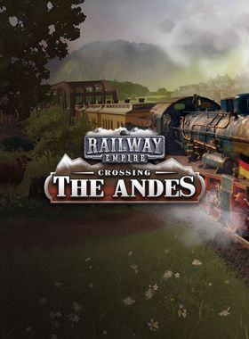 Railway Empire: Crossing the Andes Key Art