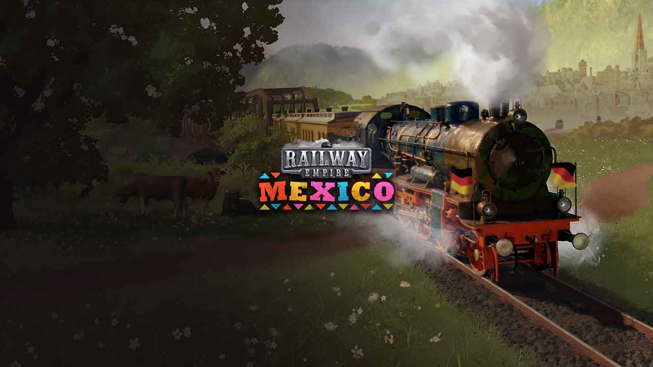 Railway Empire: Mexico Key Art