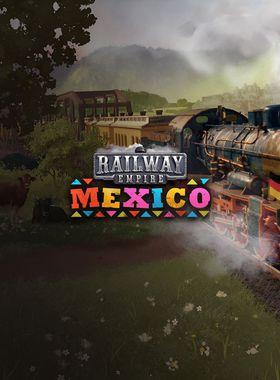 Railway Empire: Mexico Key Art