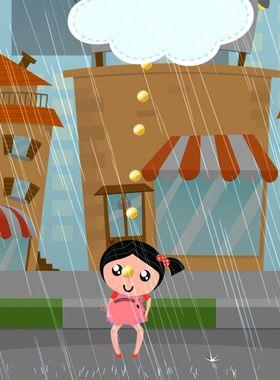 Raining Coins Key Art