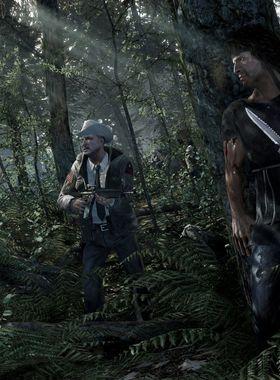 Rambo: The Video Game Key Art