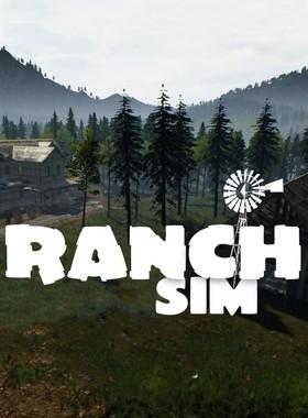 Ranch Simulator Key Art