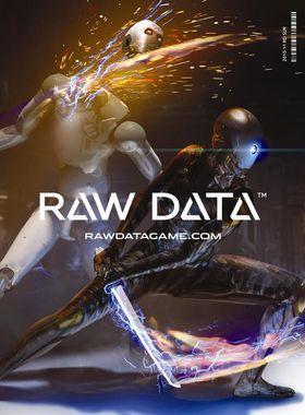 Raw Data Key Art