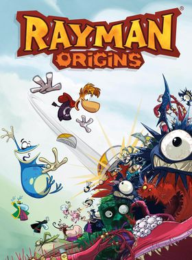 Rayman Origins Key Art