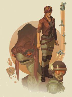 Rebel Galaxy Outlaw Key Art
