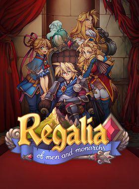 Regalia: Of Men and Monarchs Key Art
