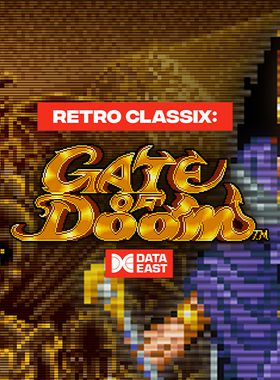 Retro Classix: Gate of Doom Key Art