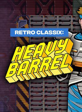 Retro Classix: Heavy Barrel Key Art
