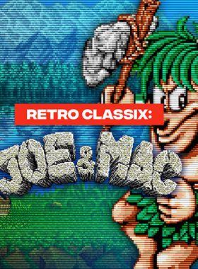 Retro Classix: Joe & Mac - Caveman Ninja Key Art
