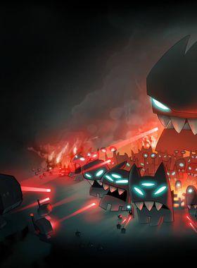 Revenge of The Titans Key Art