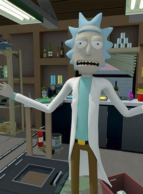 Rick and Morty: Virtual Rick-ality Key Art