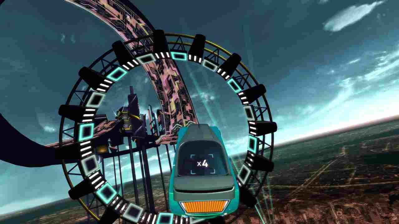 Riff Racer Background Image
