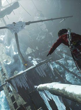 Rise of the Tomb Raider - Cold Darkness Awakened Key Art