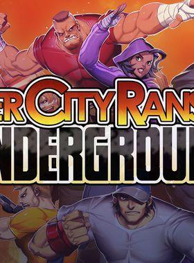 River City Ransom: Underground Key Art