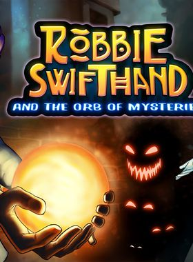 Robbie Swifthand and the Orb of Mysteries Key Art