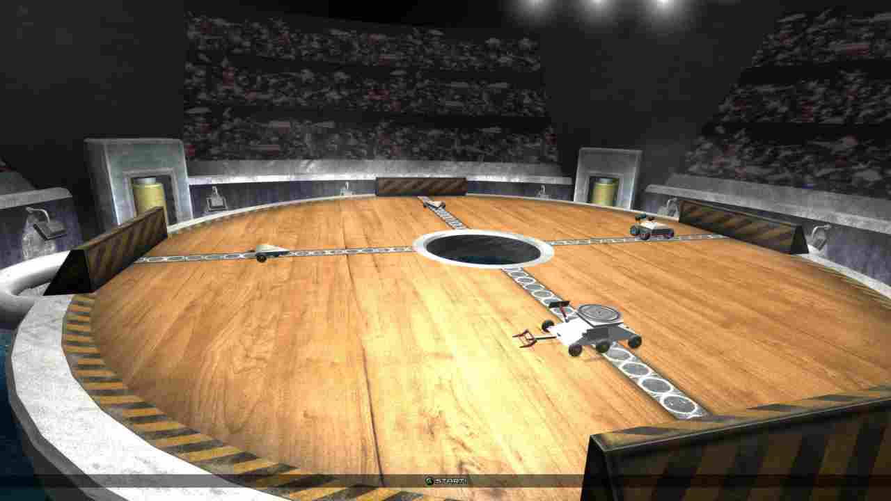 Robot Arena III Background Image