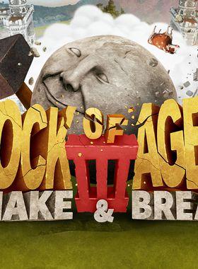 Rock of Ages 3: Make & Break Key Art