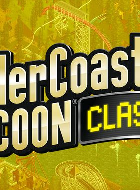 RollerCoaster Tycoon Classic Key Art