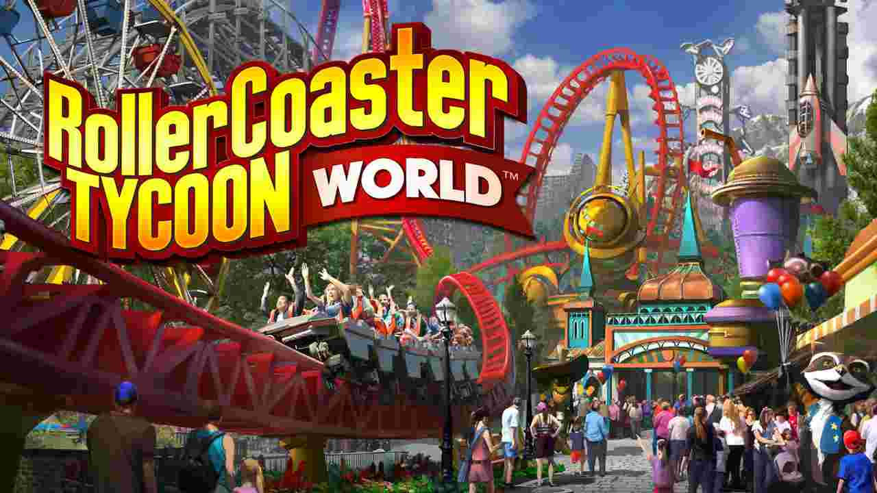 RollerCoaster Tycoon World Background Image
